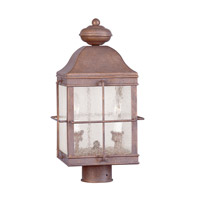 Livex Nantucket 2 Light Outdoor Post Mount in Sunset 2413-09