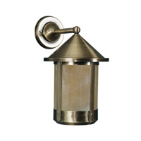 Livex Limited 1 Light Outdoor Wall Lantern in Flemish Brass 2442-22