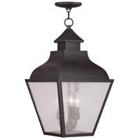 Livex Lighting Vernon 3 Light Outdoor Hanging Lantern in Bronze 2456-07