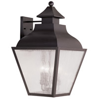 Livex Lighting Vernon 4 Light Outdoor Wall Lantern in Bronze 2457-07