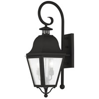 Livex 2551-04 Amwell 2 Light 26 inch Black Outdoor Wall Lantern