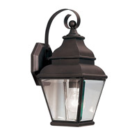 Exeter 1 Light 15 inch Bronze Outdoor Wall Lantern