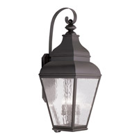 Livex 2607-07 Exeter 4 Light 38 inch Bronze Outdoor Wall Lantern