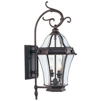 Livex Lighting Fleur de Lis 2 Light Outdoor Wall Lantern in Bronze 2621-07