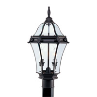 Livex Lighting Fleur de Lis 2 Light Outdoor Post Head in Bronze 2622-07