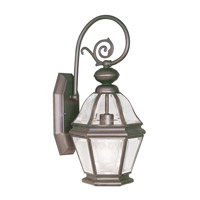 Livex Lighting Bradford 1 Light Outdoor Wall Lantern in Bronze 2630-07