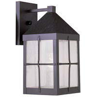 Livex Lighting Brighton 1 Light Outdoor Wall Lantern in Bronze 2681-07