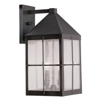 Livex Lighting Brighton 3 Light Outdoor Wall Lantern in Bronze 2682-07