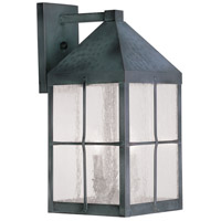 Livex Lighting Brighton 3 Light Outdoor Wall Lantern in Hammered Charcoal 2682-61