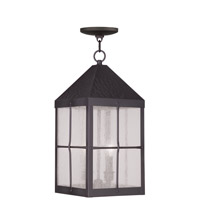 Livex Lighting Brighton 3 Light Outdoor Hanging Lantern in Bronze 2683-07