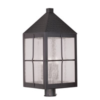 Livex Lighting Brighton 4 Light Outdoor Post Head in Bronze 2686-07