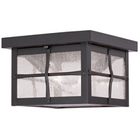 Livex Lighting Brighton 2 Light Outdoor Ceiling Mount in Bronze 2688-07
