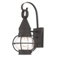 Livex 26900-04 Newburyport 1 Light 14 inch Black Outdoor Wall Lantern