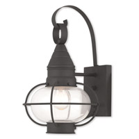 Livex 26901-04 Newburyport 1 Light 15 inch Black Outdoor Wall Lantern