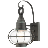 Livex Lighting 26901-61 Newburyport 1 Light 15 inch Charcoal Outdoor Wall Lantern