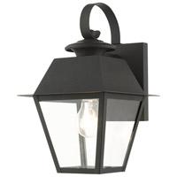 Livex 27212-04 Mansfield 1 Light 13 inch Black Outdoor Wall Lantern