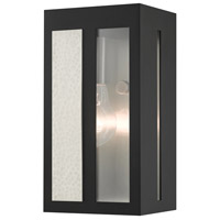 Livex 27411-04 Lafayette 1 Light 9 inch Black Outdoor Wall Lantern