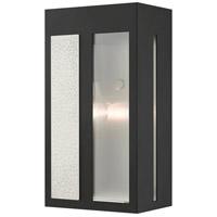 Livex 27412-04 Lafayette 1 Light 11 inch Black Outdoor Wall Lantern