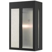 Livex 27413-04 Lafayette 1 Light 14 inch Black Outdoor Wall Lantern