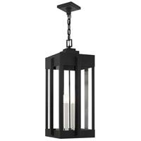 Livex Lighting 27720-04 Lexington 4 Light 13 inch Black Outdoor Pendant Lantern