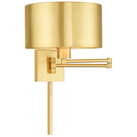 Signature 24 inch 100 watt Satin Brass Swing Arm Wall Lamp Wall Light
