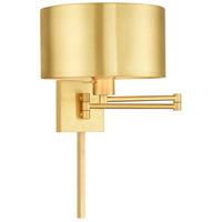 Livex 40034-12 Allison 24 inch 100.00 watt Satin Brass Swing Arm Wall Lamp Wall Light