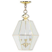 Limited 3 Light 12 inch Polished Brass Pendant Ceiling Light