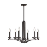 Trumbull 6 Light 26 inch Bronze Chandelier Ceiling Light