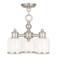 Livex Brushed Nickel Middlebush Chandeliers
