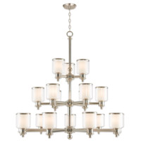 Livex 40219-35 Middlebush 18 Light 44 inch Polished Nickel Foyer Chandelier Ceiling Light