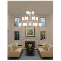 Livex Lighting Middlebush 18 Light Foyer Chandelier in Brushed Nickel 40219-91