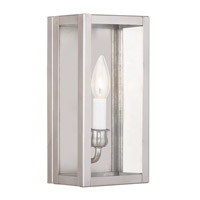 Milford 1 Light 11 inch Brushed Nickel ADA Wall Sconce Wall Light