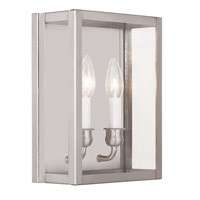 Milford 2 Light 11 inch Brushed Nickel ADA Wall Sconce Wall Light