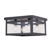 Livex Lighting Milford 4 Light Ceiling Mount in Bronze 4032-07