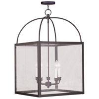 Livex Lighting Milford 5 Light Chandelier in Bronze 4038-07