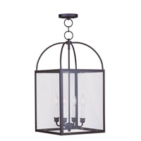 Livex Lighting Milford 4 Light Pendant in Bronze 4042-07