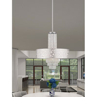 Livex 40766-05 Allendale 4 Light 18 inch Polished Chrome Pendant Chandelier Ceiling Light alternative photo thumbnail