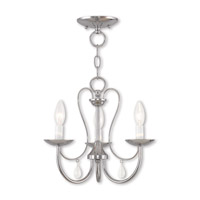 Livex 40863-05 Mirabella 3 Light 15 inch Polished Chrome Chandelier Ceiling Light