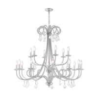 Daphne 18 Light 42 inch Polished Chrome Foyer Chandelier Ceiling Light