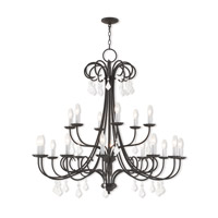 Daphne 18 Light 42 inch English Bronze Foyer Chandelier Ceiling Light