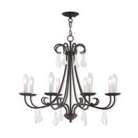 Daphne 8 Light 30 inch English Bronze Chandelier Ceiling Light