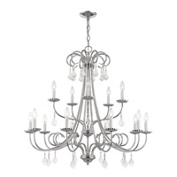 Daphne 15 Light 36 inch Polished Chrome Foyer Chandelier Ceiling Light