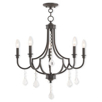 Glendale 5 Light 25 inch English Bronze Chandelier Ceiling Light