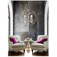 Aria 5 Light 22 inch Brushed Nickel Chandelier Ceiling Light