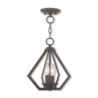Prism 2 Light 11 inch Bronze Mini Chandelier Ceiling Light