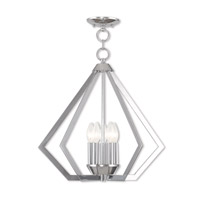 Livex 40925-05 Prism 5 Light 20 inch Polished Chrome Chandelier Ceiling Light