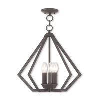 Livex 40925-07 Prism 5 Light 20 inch Bronze Chandelier Ceiling Light
