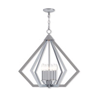 Livex 40926-05 Prism 6 Light 26 inch Polished Chrome Chandelier Ceiling Light