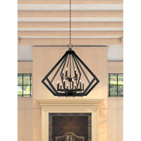 Livex 40928-07 Prism 15 Light 42 inch Bronze Foyer Chandelier Ceiling Light alternative photo thumbnail