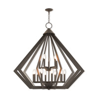 Livex 40928-07 Prism 15 Light 42 inch Bronze Foyer Chandelier Ceiling Light